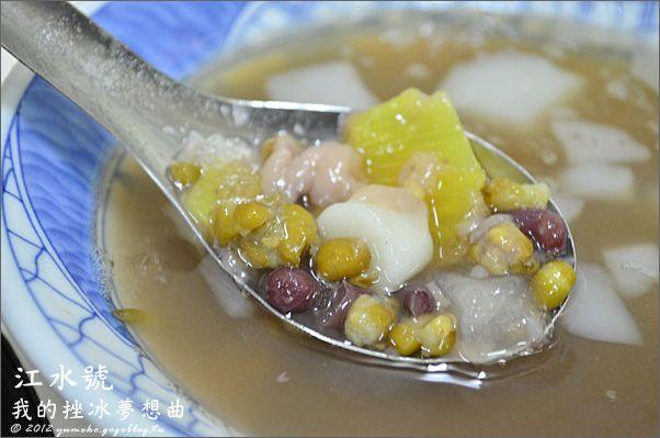 【週末代班格主】台南國華街市場小吃,只有江水號八寶冰能解開炎熱。 @Via's旅行札記-旅遊美食部落格