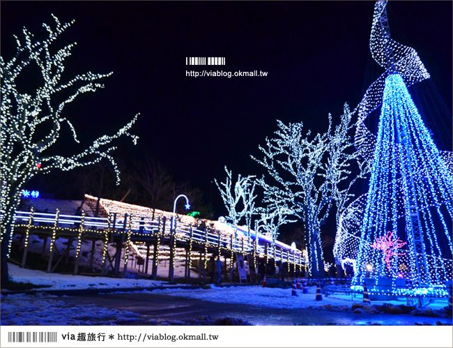 【鳥取旅遊】鳥取沙丘光之序章《夜間燈祭》~感受冬季限定的浪漫光景! @Via's旅行札記-旅遊美食部落格