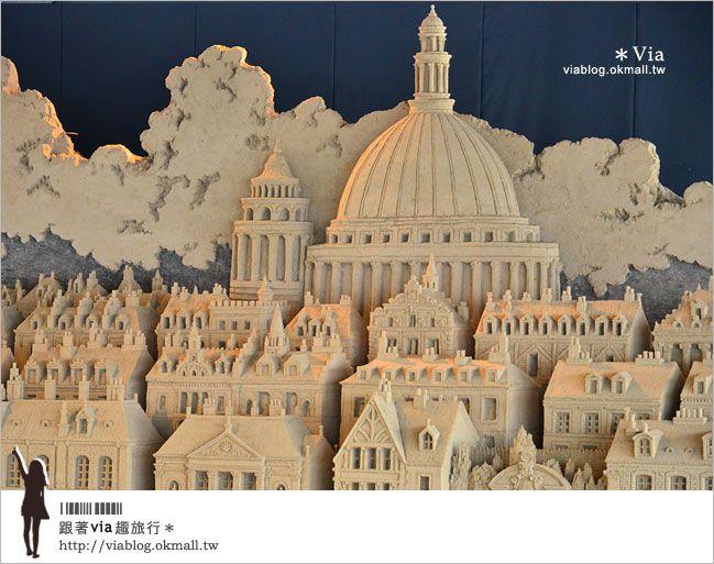 【鳥取旅遊景點】日本鳥取「砂之美術館」~可以維持一整年度的砂雕展! @Via's旅行札記-旅遊美食部落格