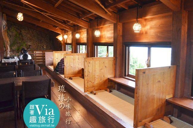 【沖繩餐廳】沖繩「山的茶屋‧樂水」~一個有山有海的療癒系木屋茶坊! @Via's旅行札記-旅遊美食部落格