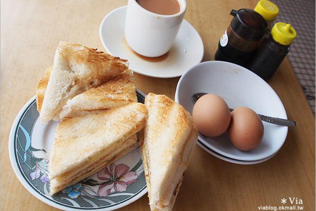 【新加坡必吃美食】新加坡咖椰吐司(kaya toast)推薦~東亞茶室餐廳 @Via's旅行札記-旅遊美食部落格