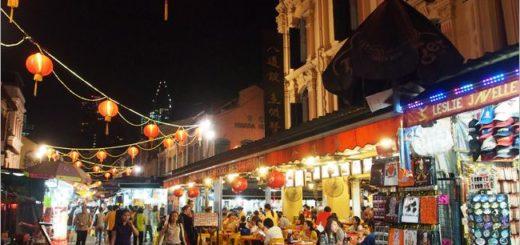 【新加坡逛街推薦】牛車水夜市(Chinatown)~夜間逛街就往這裡出發吧! @Via's旅行札記-旅遊美食部落格