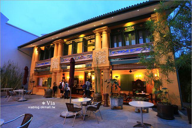 【檳城住宿推薦】燕京飯店Yeng Keng Hotel Penang~老厝翻新的精品旅館 @Via's旅行札記-旅遊美食部落格