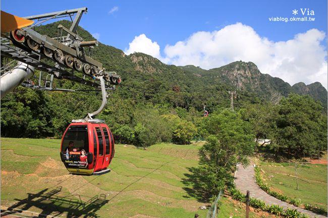 【蘭卡威自由行】蘭卡威一日遊~高空纜車、天空步道、麒麟河紅樹林生態之旅 @Via's旅行札記-旅遊美食部落格