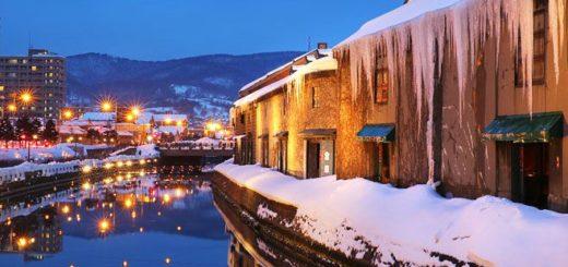 【小樽雪燈之路】北海道小樽雪祭~浪漫必訪!小樽運河雪景美不勝收~戀人們的最愛 @Via's旅行札記-旅遊美食部落格