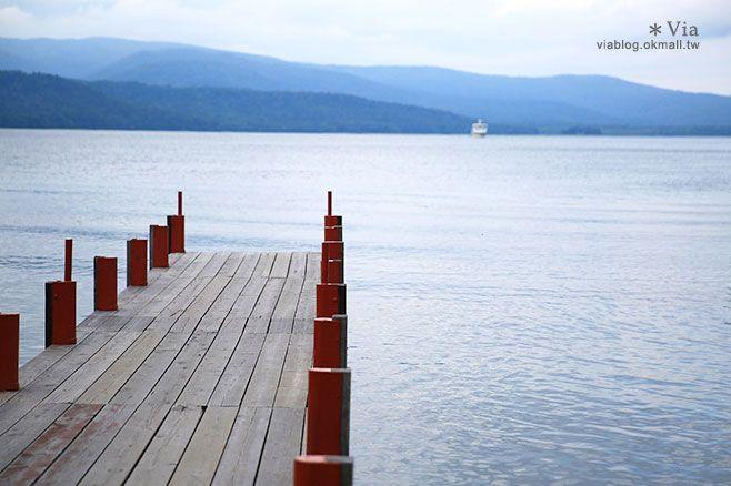 【北海道旅遊景點】阿寒湖溫泉~散策溫泉街,感受悠緩迷人的阿寒湖美景 @Via's旅行札記-旅遊美食部落格