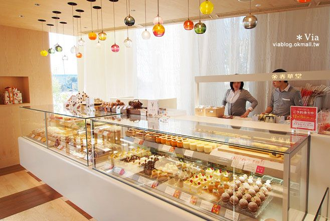 【靜岡甜點】NICOE(ニコエ)~美味甜點大集合!夢幻的甜點空間,女生們一定會喜歡 @Via's旅行札記-旅遊美食部落格