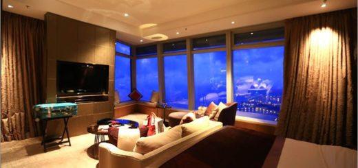 【香港飯店】Ritz Carlton Hotel麗思卡爾頓酒店~朝聖!全世界最高的飯店!《房型篇》 @Via's旅行札記-旅遊美食部落格