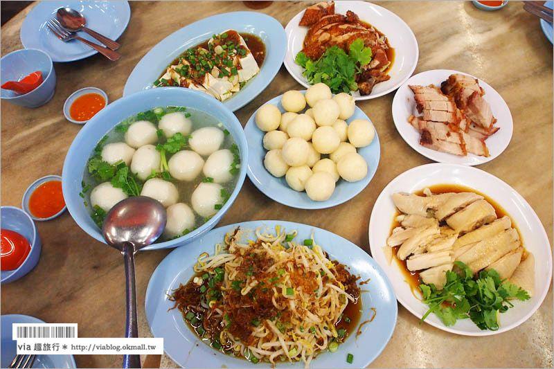 【馬六甲餐廳】馬六甲美食介紹‧古城雞飯粒~當地必嚐風味小吃! @Via's旅行札記-旅遊美食部落格