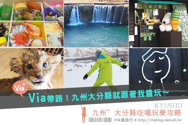 【九州自由行】九州大分景點~四日遊行程分享篇‧美食、溫泉、滑雪、野生動物園大好玩! @Via's旅行札記-旅遊美食部落格