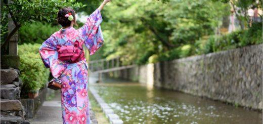 【京都和服出租】花かんざし(花簪)浴衣/和服體驗~有中文!款式價位任選~一起來去變身京都美人! @Via's旅行札記-旅遊美食部落格