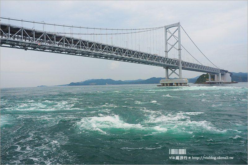 日本旅遊》淡路島一日遊~明石海峽大橋、吹龍好有趣、世界最大海漩渦和超可愛海豚農場一次玩透透! @Via's旅行札記-旅遊美食部落格