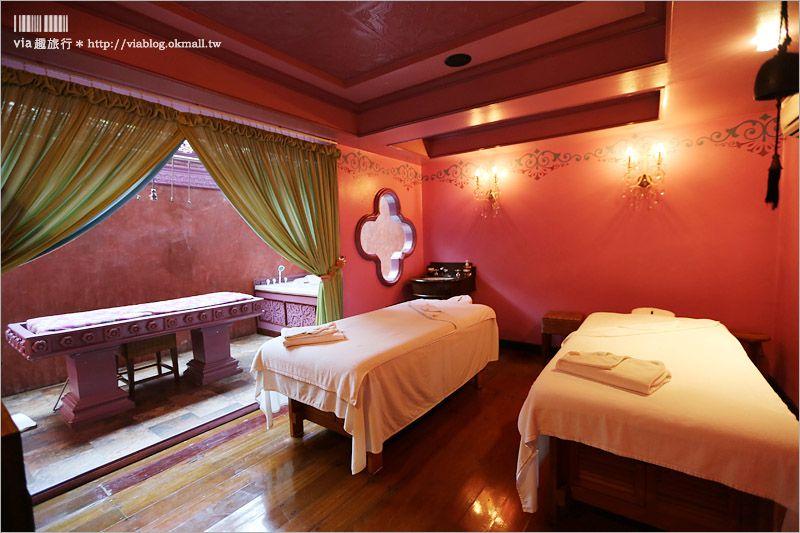 【泰國按摩推薦】曼谷SPA推薦~Oasis Spa Bangkok sukhumvit 51‧傳統泰式風格設計美翻了! @Via's旅行札記-旅遊美食部落格