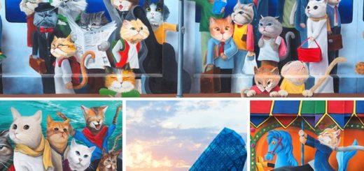 【嘉義景點】高跟鞋教堂+喵星人愛情故事彩繪牆~布袋港週邊的拍照小旅行! @Via's旅行札記-旅遊美食部落格