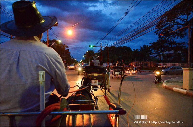 【泰國旅遊】南邦(LamPang)小旅行~來到泰國唯一的馬車之城旅行去! @Via's旅行札記-旅遊美食部落格