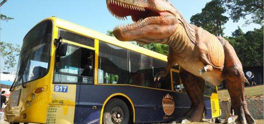 【彰化恐龍】百果山探索樂園~恐龍出沒!大型恐龍會動會吼叫~霸王龍、腕龍、迅猛龍等超霸氣登場! @Via's旅行札記-旅遊美食部落格