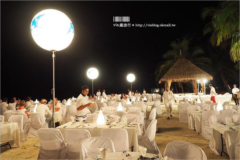 【馬爾地夫飯店】Club Med卡尼島~沙灘上用餐超浪漫!每晚都有的Party好嗨森! @Via's旅行札記-旅遊美食部落格