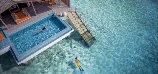 【馬爾地夫蜜月】芬尼芙島(Finolhu Villas)‧極致奢華的水上Villa!夢幻的海島之旅~一起渡假去! @Via's旅行札記-旅遊美食部落格