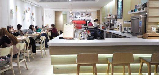 【台北咖啡廳推薦】喝什麼。KaPi~中山區的日式小清新風格咖啡館,女生們會愛上的店!愛心三明治太俏皮! @Via's旅行札記-旅遊美食部落格