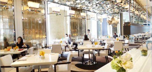 【台北餐廳】文華東方酒店~文華Café午間套餐!精緻新菜色登場‧吃好又吃飽的幸福午餐! @Via's旅行札記-旅遊美食部落格
