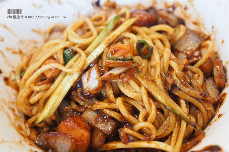 【仁川美食】中國城餐廳推薦:共和春炸醬麵~傳說中的炸醬麵創始店! @Via's旅行札記-旅遊美食部落格