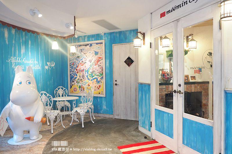 【台北餐廳】Moomin Café嚕嚕米主題餐廳~全台首間嚕嚕米餐廳插旗大安區!來去療癒的森林小屋用餐趣! @Via's旅行札記-旅遊美食部落格