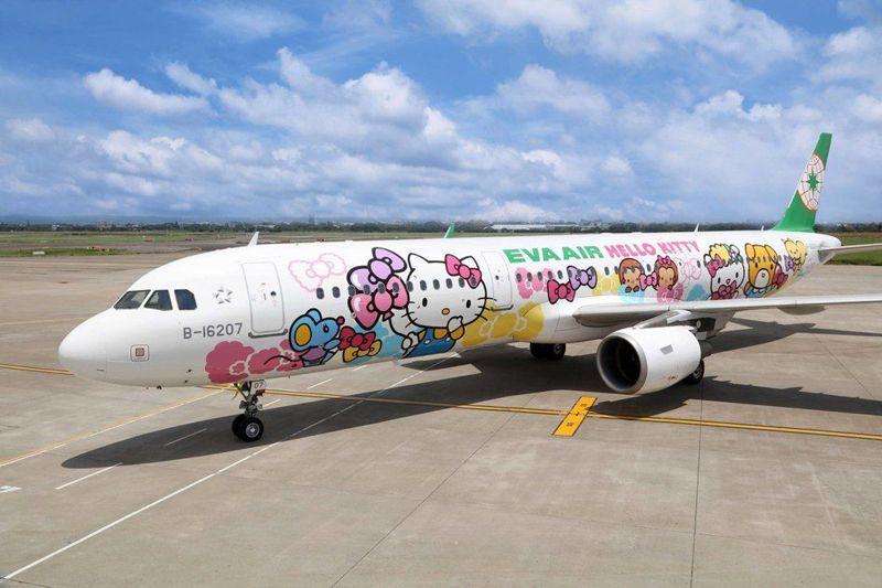 【長榮Kitty機】長榮最新Kitty彩繪「友誼機」~每日往返大阪、沖繩!Via機上完全記錄篇! @Via's旅行札記-旅遊美食部落格