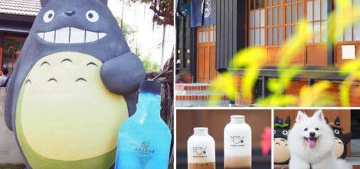 【台南旅遊】新化‧大目降文化園區~龍貓來囉!大人氣乳液奶茶、漱口水飲料都在這! @Via's旅行札記-旅遊美食部落格