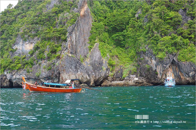 【泰國自由行】蘭塔島一日遊行程~出海旅行!一天跳四島浮潛趣,秘境翡翠洞好驚豔! @Via's旅行札記-旅遊美食部落格