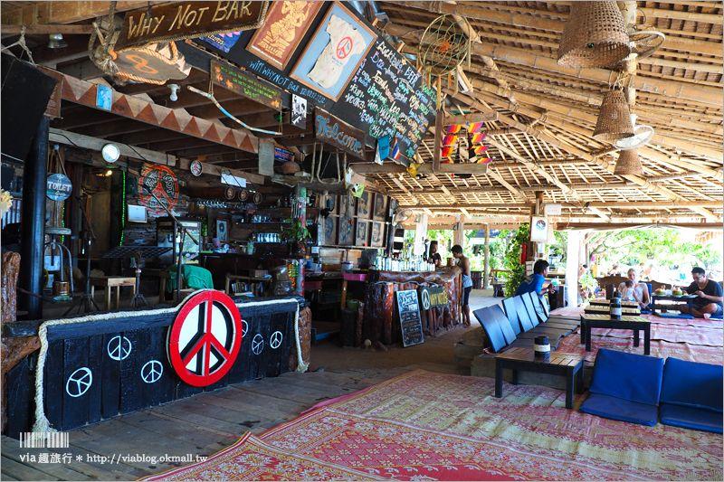 【蘭塔美食】蘭塔島餐廳~Why Not Bar‧大人氣酒吧!就在沙灘上用餐~平價的浪漫海灘餐廳! @Via's旅行札記-旅遊美食部落格