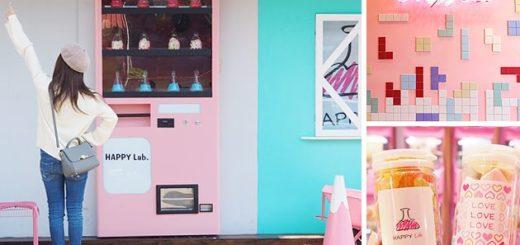 【嘉義IG景點】Happy Lab.糖果+扭蛋店!最新IG打卡景點~少女心大爆發的粉紅實驗室! @Via's旅行札記-旅遊美食部落格