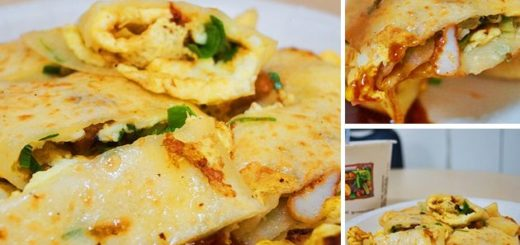 【台中美食】阿姨的蛋餅店~早餐吃章魚蛋餅!你沒聽錯,口味獨特中式早點 @Via's旅行札記-旅遊美食部落格