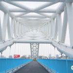 即時熱門文章:【台中北屯景點】海天橋~台中IG打卡熱點,藍白自行車景觀橋怎麼拍都好看