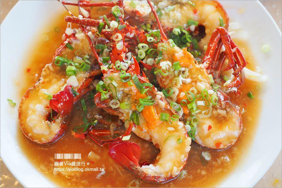 【花蓮海鮮餐廳推薦】噶瑪蘭風味餐~好好味!活跳跳的美味龍蝦大餐~價格平實透明化的在地好店! @Via's旅行札記-旅遊美食部落格