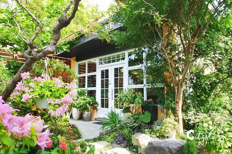 【彰化社頭咖啡廳】四季花園~質感甜點下午茶,優雅渡假風夢幻花園咖啡廳 @Via's旅行札記-旅遊美食部落格