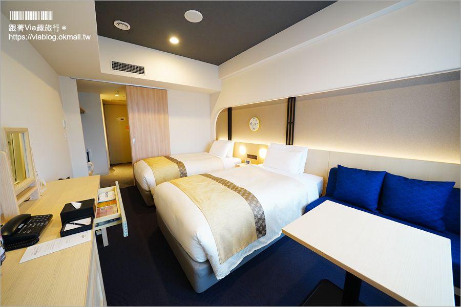 【京都飯店】住宿推薦住這間~三条Hotel Gracery Kyoto‧樓下就是商圈超級方便!訂房網站大好評9分以上! @Via's旅行札記-旅遊美食部落格