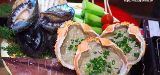【大阪餐廳】心齋橋美食~磯丸水產居酒屋‧海鮮套餐喔依系!新鮮生猛的鮑魚、扇貝好好吃! @Via's旅行札記-旅遊美食部落格