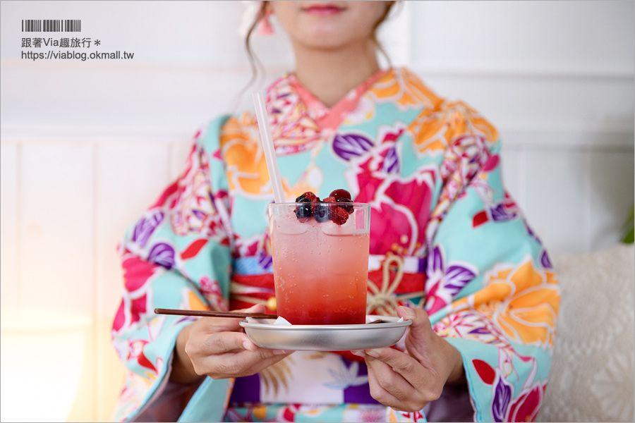 【京都嵐山美食】嵯峨野湯‧舊澡堂改造甜點咖啡館~文青味十足!女子最愛的風格咖啡廳 @Via's旅行札記-旅遊美食部落格