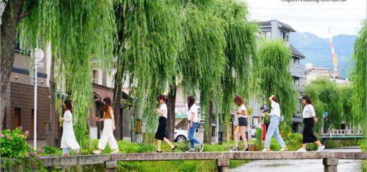 【京都私房景點】京都一本橋/行者橋~柳樹相伴的古老小石橋,底下溪水超級清澈的小秘境旅點! @Via's旅行札記-旅遊美食部落格