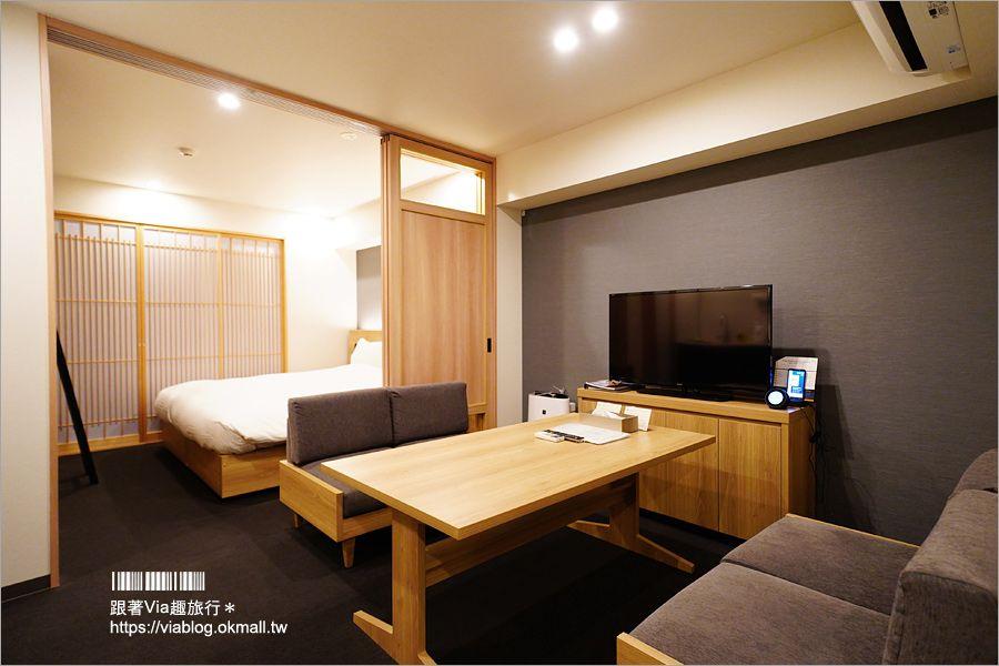 京都住宿推薦》美滿如‧MIMARU新町三条店~親子住宿選這間!房內就有小客廳、廚房、洗衣機超方便! @Via's旅行札記-旅遊美食部落格