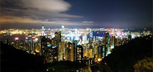 【香港自由行】必推!內有百萬夜景~香港太平山夜景 @Via's旅行札記-旅遊美食部落格
