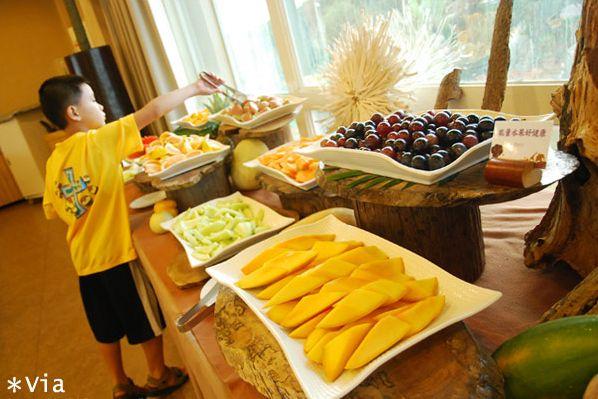 【新竹旅館】關西六福莊生態渡假旅館~餐食篇 @Via's旅行札記-旅遊美食部落格