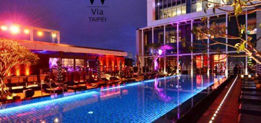 【台北W飯店】TAIPEI @ W HOTEL~時尚奢華飯店大廳、設施篇 @Via's旅行札記-旅遊美食部落格
