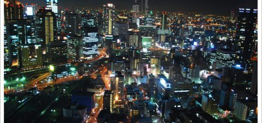 【大阪景點】大阪梅田空中展望台~屬於關西的百萬夜景! @Via's旅行札記-旅遊美食部落格