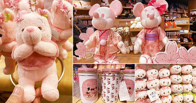 【2020日本迪士尼商店】粉紅迪士尼家族來囉!!最新2020粉嫩櫻花款~粉紅控的旅人快點來收集! @Via's旅行札記-旅遊美食部落格