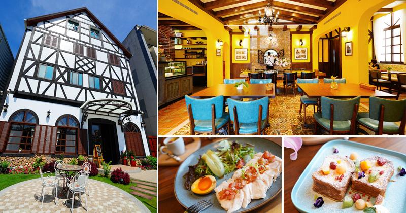 台中餐廳》最新大坑餐廳:步子小路~浪漫歐風小屋!西式早午餐及下午茶的新去處 @Via's旅行札記-旅遊美食部落格