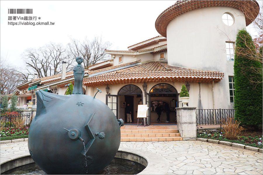 【箱根景點推薦】小王子博物館~全球唯一小王子博物館,一起走入小王子的奇幻世界 @Via's旅行札記-旅遊美食部落格