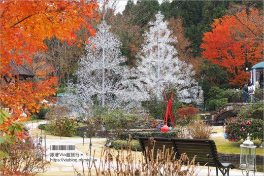 【箱根景點】玻璃之森美術館/ガラスの森美術館~走入歐風莊園的玻璃藝術庭園! @Via's旅行札記-旅遊美食部落格