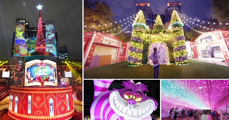2020新北耶誕城》迪士尼來了~今年好精彩!童話風主燈光雕秀,超大型燈區帶你浪漫過聖誕! @Via's旅行札記-旅遊美食部落格