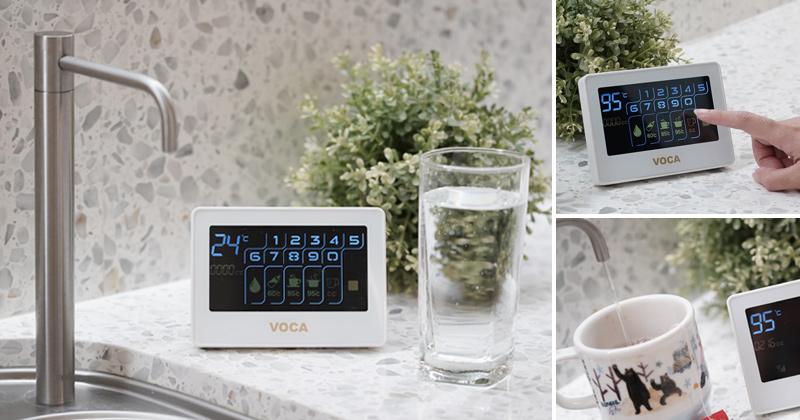 飲水機推薦》VOCA頂級瞬熱飲水機~廚下式飲水機好省空間!隨按隨飲~不用等就有熱水太美妙了! @Via's旅行札記-旅遊美食部落格